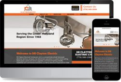 Webdesign for Electricians